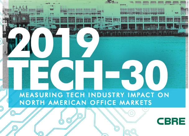 Denver Listed Among Top Tech Hotspots in CBRE's Tech-30 Report