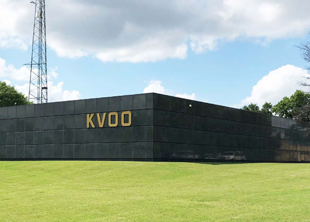 Former KVOO Radio Station Building Listed For Sale