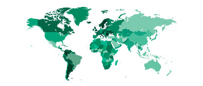CBRE currently has approximately 80,000 employees in more than 100+ countries worldwide.
