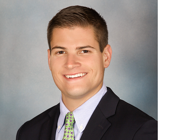Johnson Bryan headshot, CBRE - Senior Analyst, Newport Beach