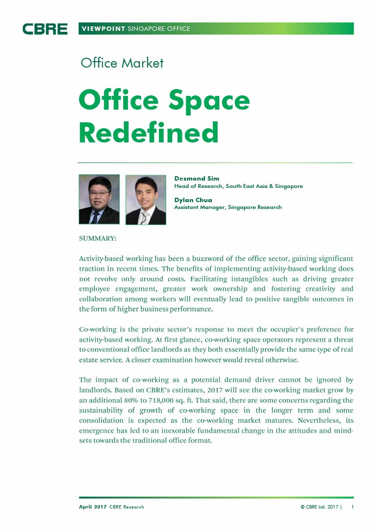 Office Space Redefined