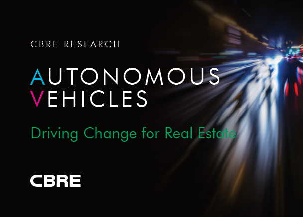 CBRE Report: Autonomous Vehicles Expected to Fundamentally Reshape U.S. Office Market by 2030