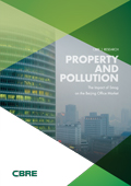 Property and Polution - The Impact of Smog on the Beijing Office Market