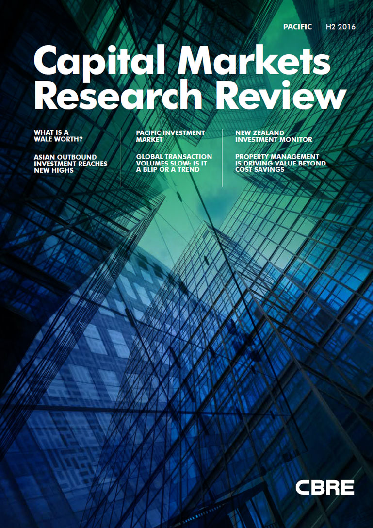 Pacific Major Report - Capital Markets Research Review H2 2016