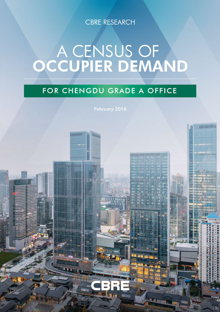 A Census of Occupier Demand for Chengdu Grade A Office
