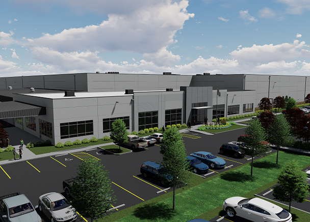 New Build-To-Suit for Columbia Distributing Unveiled